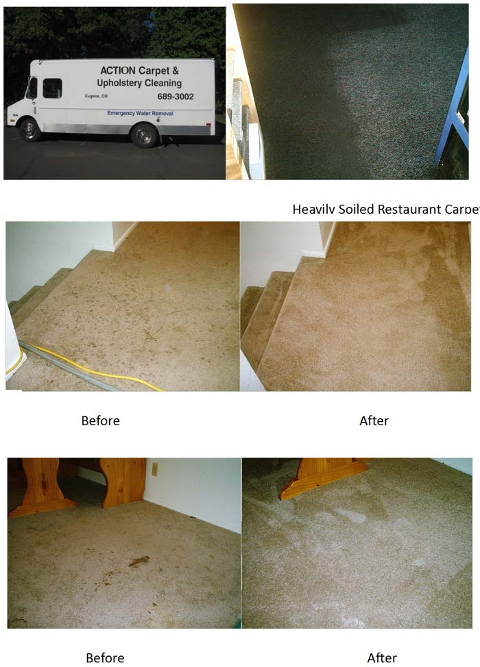 Carpet Cleaning in Eugene | ACTION
